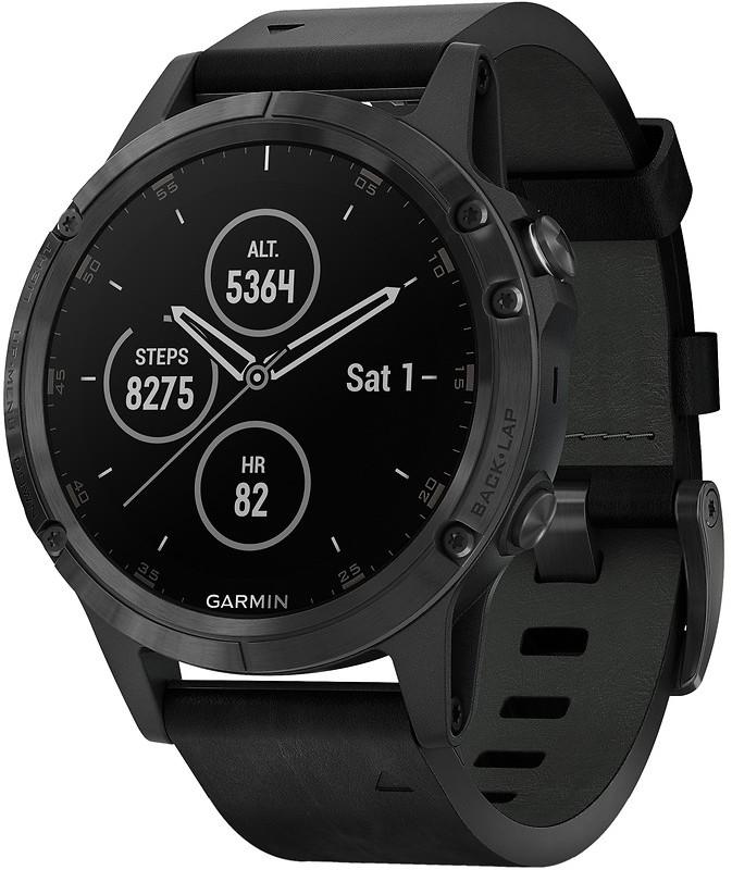 Умные часы Garmin Fenix 5S Plus Sapphir…