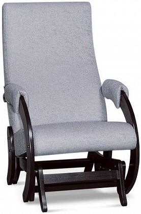 Кресло-качалка Цвет Диванов Алькор светло-серый 60x89x96 см