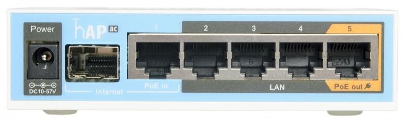 Маршрутизатор Mikrotik RB962UIGS-5HACT2HNT White