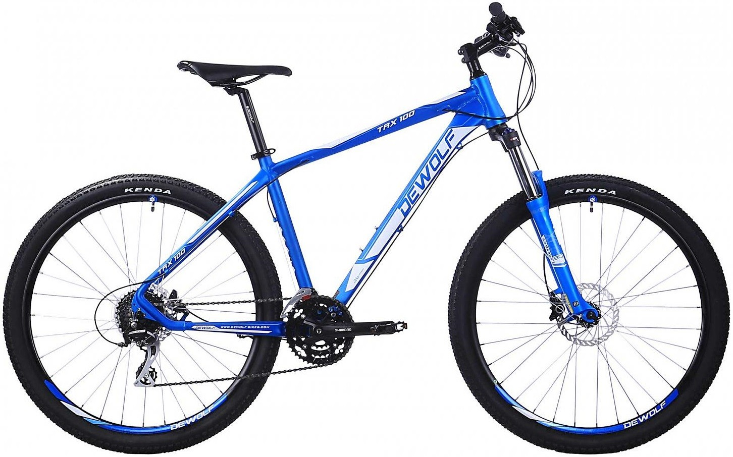"Велосипед Dewolf TRX 100 Blue 27.5"""