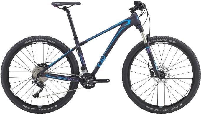 "Велосипед Giant Obsess SLR фиолетовый 27.5"""