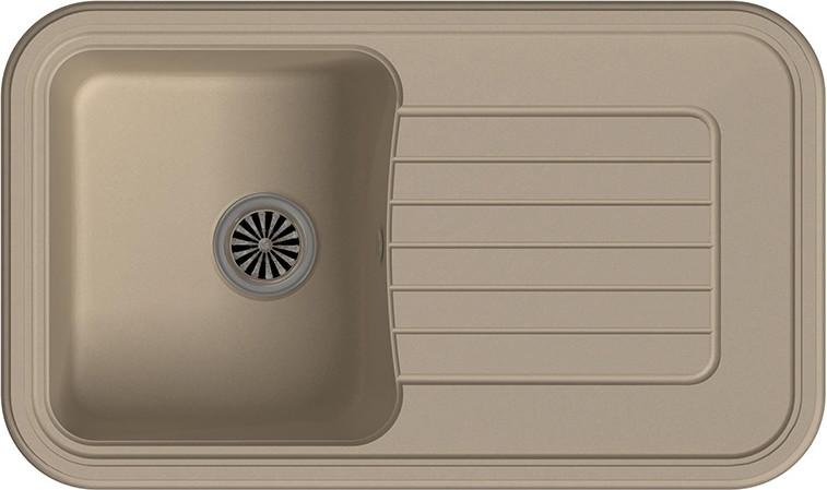 Кухонная мойка Ewigstein Antik А-60F крем