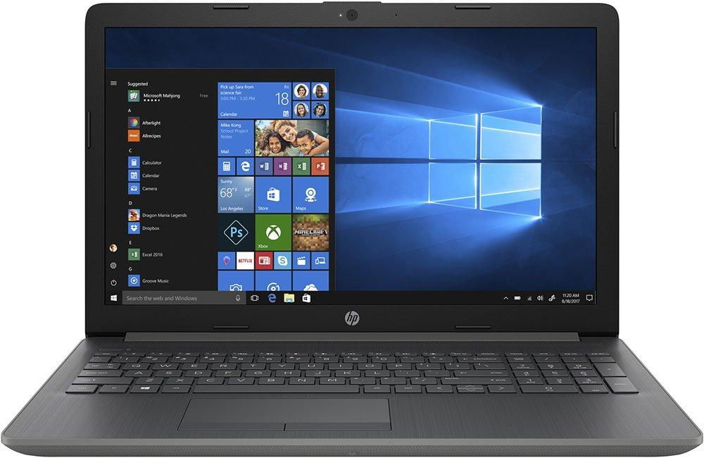 """Ноутбук HP 15-da0059ur 15,6""""/1,1GHz/4Gb/500Gb/GeForce MX110/W10 Grey"""