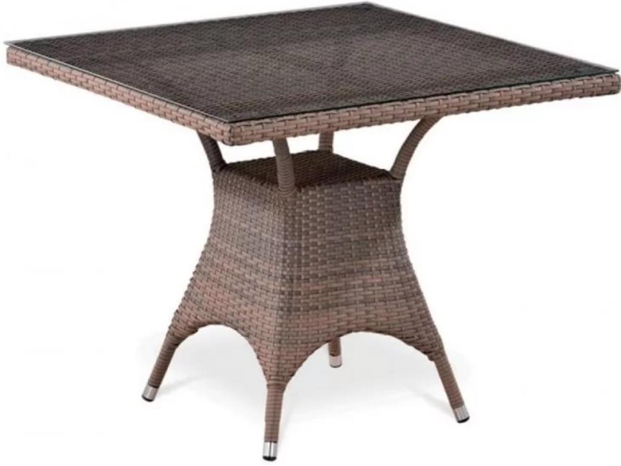 Стол Афина-Мебель T220BG-W1289 палевый