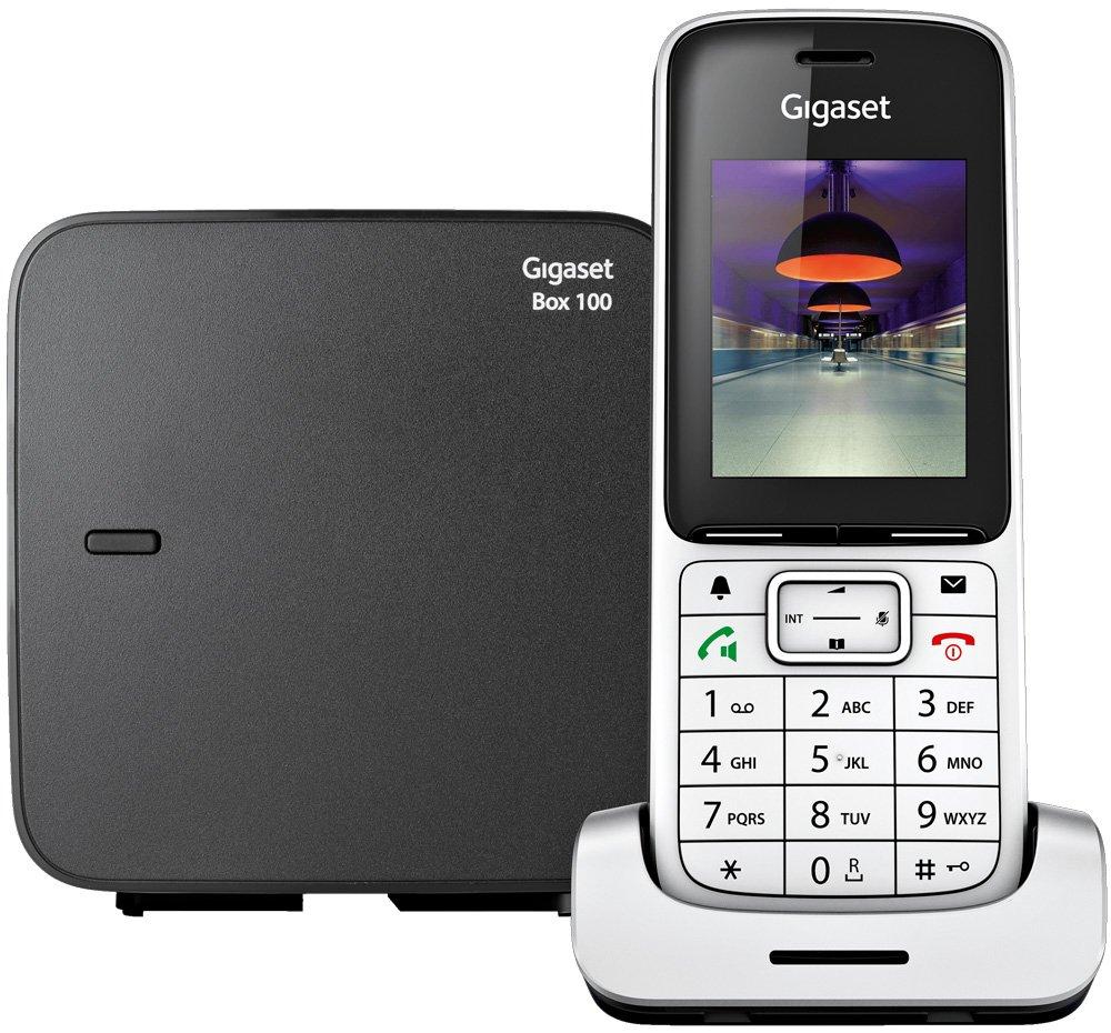Радиотелефон Siemens Gigaset SL450 SYS Silver