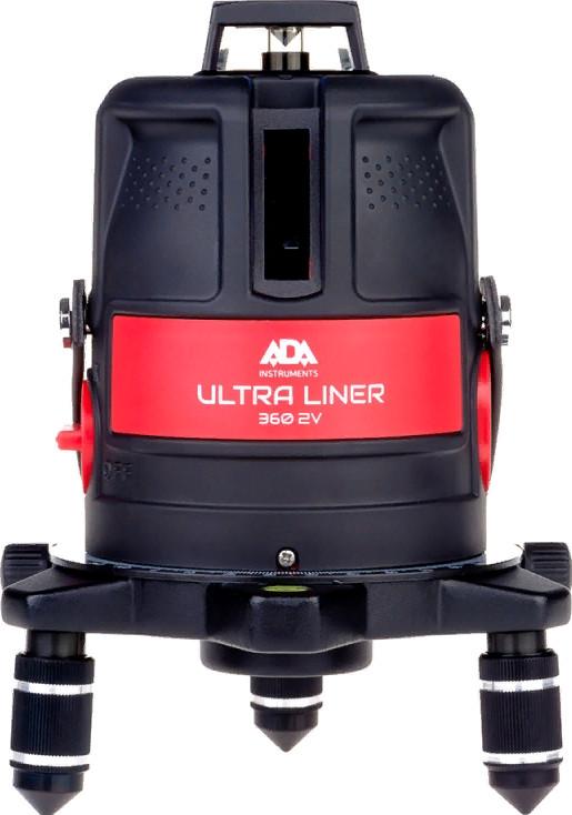 Лазерный нивелир ADA Ultraliner 360 2V
