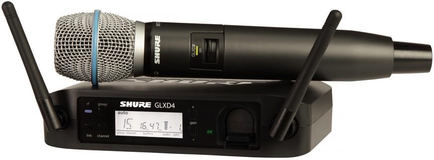 Радиосистема Shure GLXD24E/B87A Z2 2.4GHz