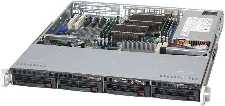 Рэковый корпус Supermicro SuperChassis 813MTQ-600CB