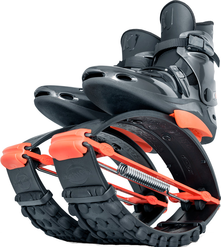 Джамперы Kangoo Jumps KJ-Pro7 Black/Orange (размер 36-38)