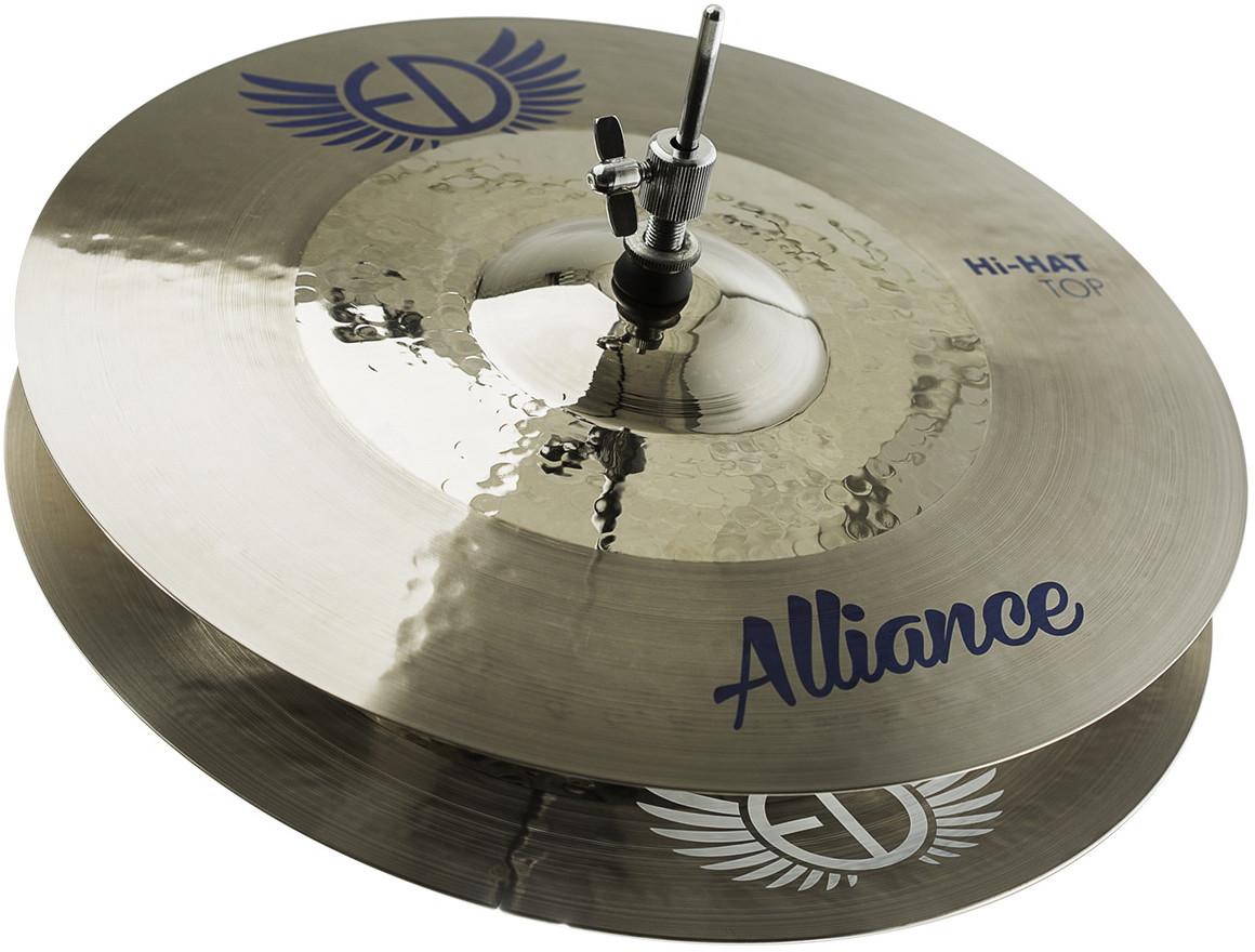 "EDCymbals Hi-Hat Alliance 15"""