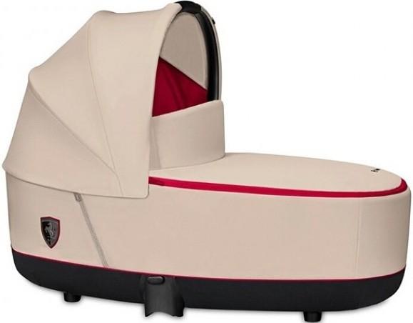 Спальный блок для коляски Cybex Priam Ferrari Silver Grey