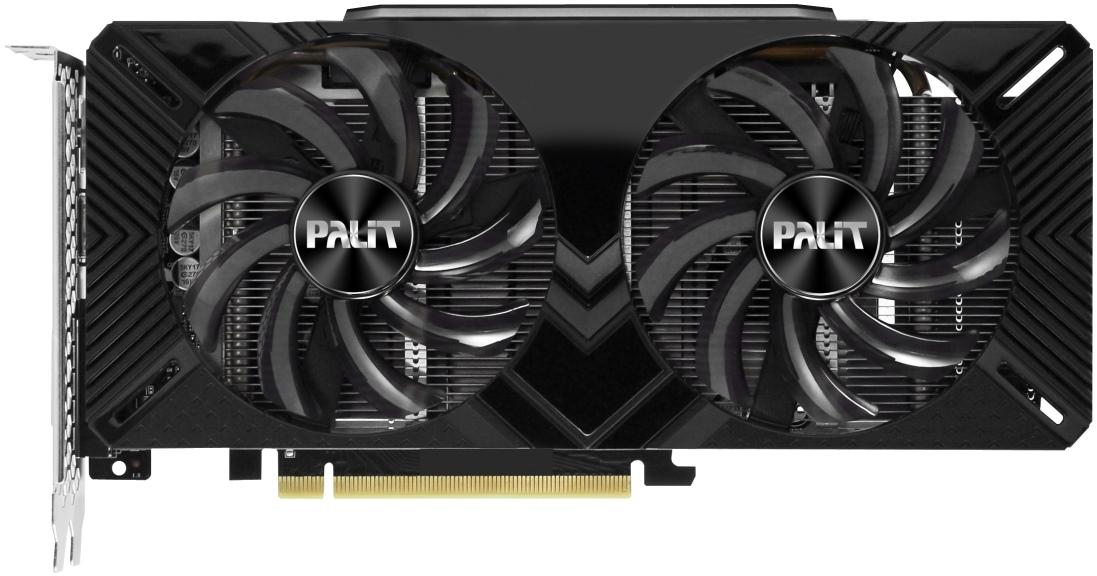 Видеокарта Palit GeForce GTX 1660 Dual 6Gb