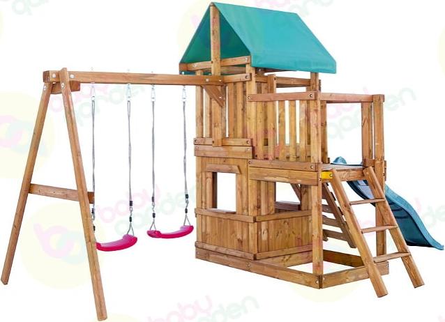 Babygarden (балкон, закрытый домик, ска…