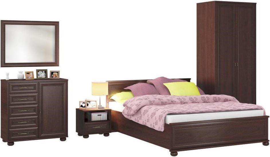 Спальня Столплит Верди 114-385-168-4413 махагон