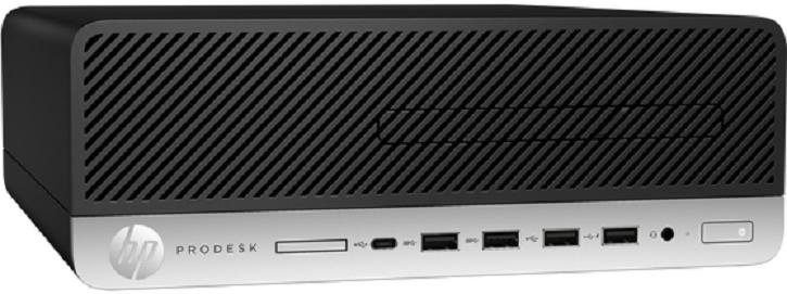 Компьютер HP ProDesk 600 G5 SFF 3,6GHz/8Gb/256GbSSD/W10 Black