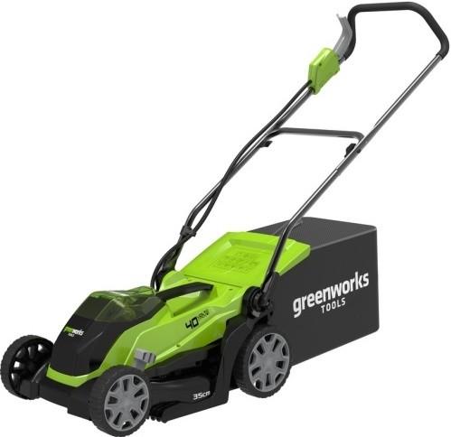 Газонокосилка Greenworks G40LM35K3 40V