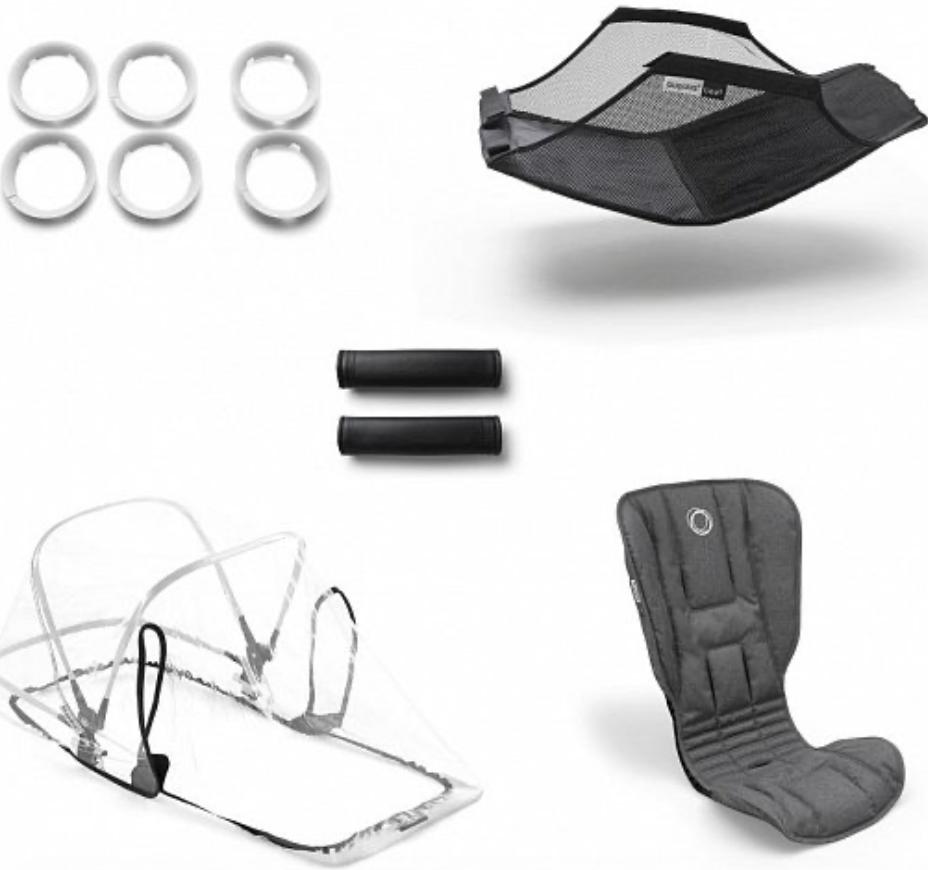 Комплект для коляски Bugaboo 500230GM01 Grey Melange