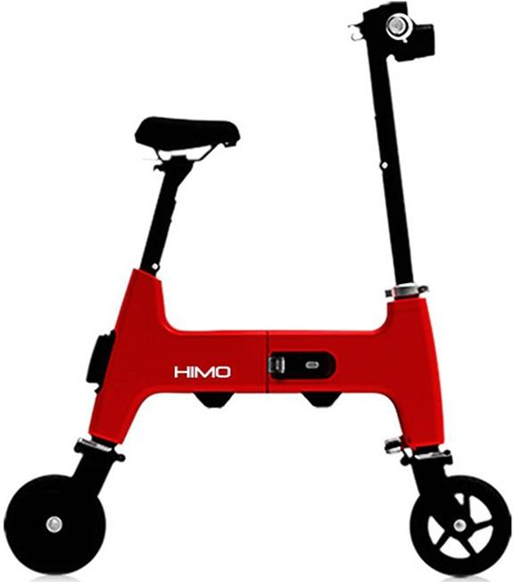 """Электровелосипед Xiaomi Himo H1 красный 7"""""""