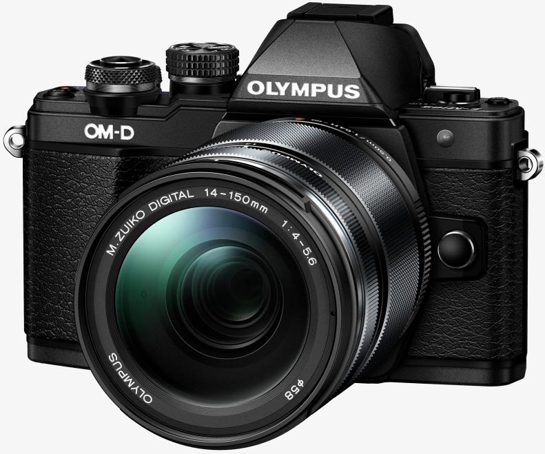 Фотоаппарат Olympus OM-D E-M10 Mark II Kit 14-150mm f/4.0-5.6 Black