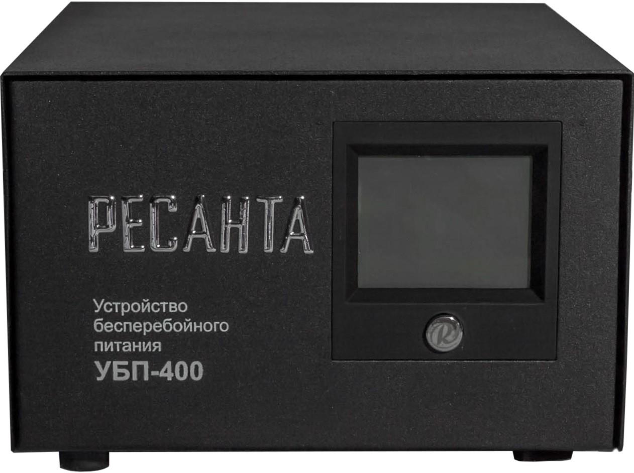 ИБП Ресанта УБП-400 (С АКБ 55AH 12V AGM-Безвредный)