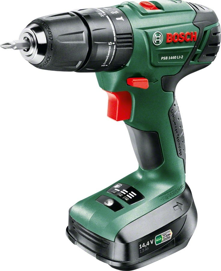 Дрель-шуруповерт Bosch 06039A3221 (2 АКБ)