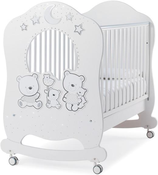 Кроватка Italbaby Happy Family Oblo белый