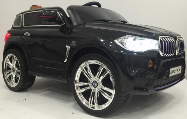 Электромобиль RiverToys BMW E002KX Black