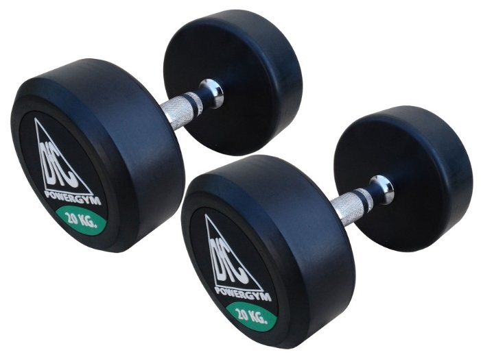Гантели DFC Powergym DB002-20 пара по 20 кг