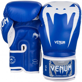 Перчатки Venum Giant 3.0 Blue/White Nappa Leather