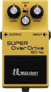 Педаль эффектов Boss SD-1W Super OverDr…