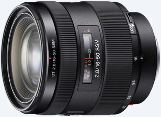 Объектив Sony DT 16-50mm f/2.8 SSM Black