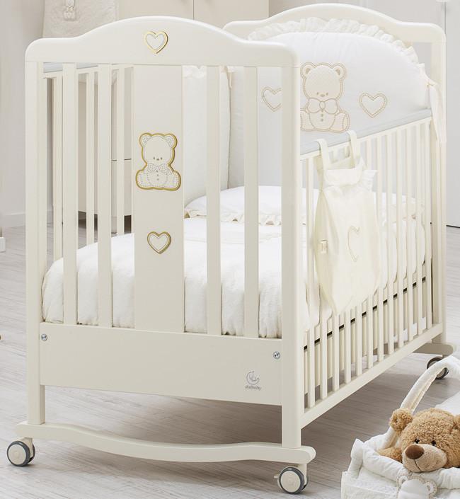 Кроватка Italbaby Amore кремовый