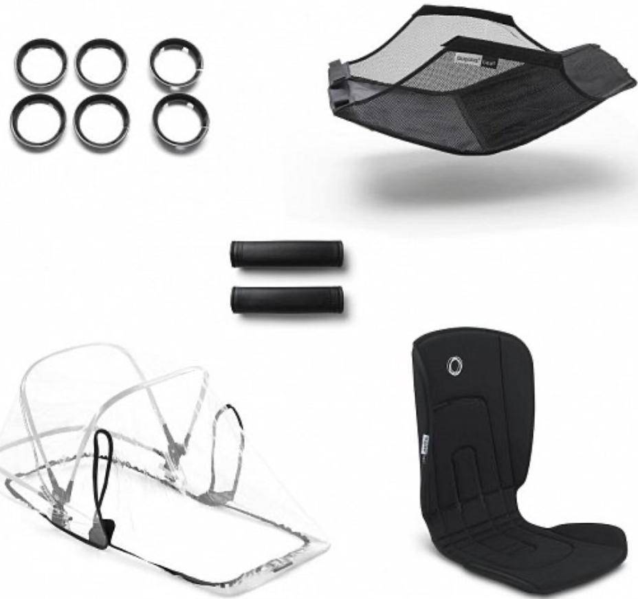 Комплект для коляски Bugaboo 500230ZW01 Black
