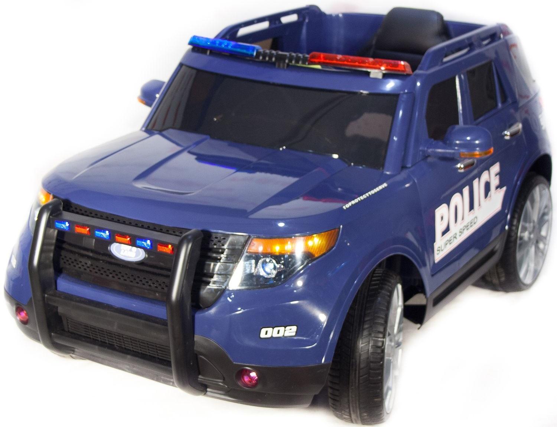 Электромобиль ToyLand Ford Explorer Police CH 9935 Blue