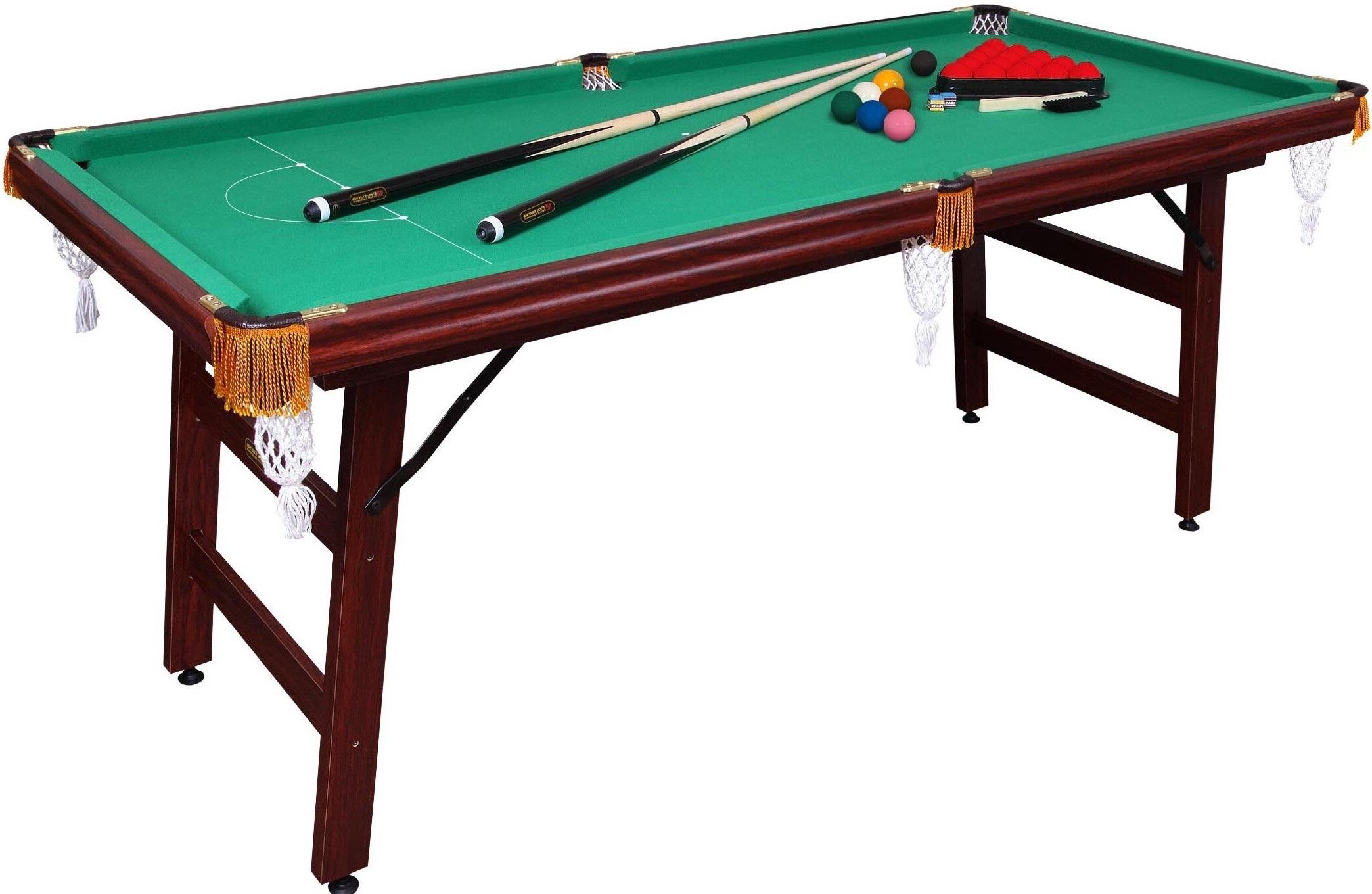 Бильярдный стол Fortuna Снукер 6FT 9в1