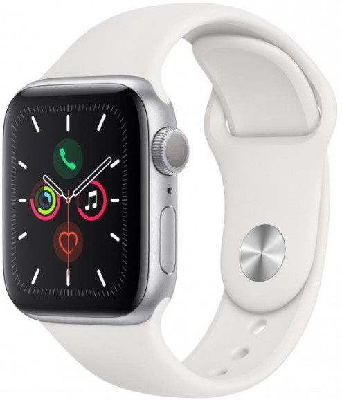 Умные часы Apple Watch Series 5 40mm MWV62 Silver/White