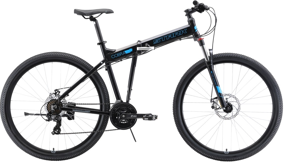 Велосипед Stark Cobra 29.2 D (2019) чёр…