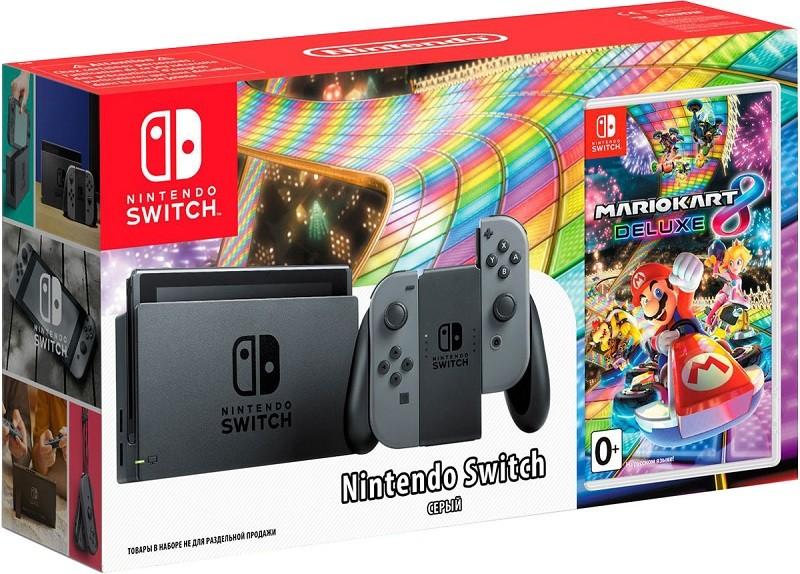 Игровая приставка Nintendo Switch Grey …