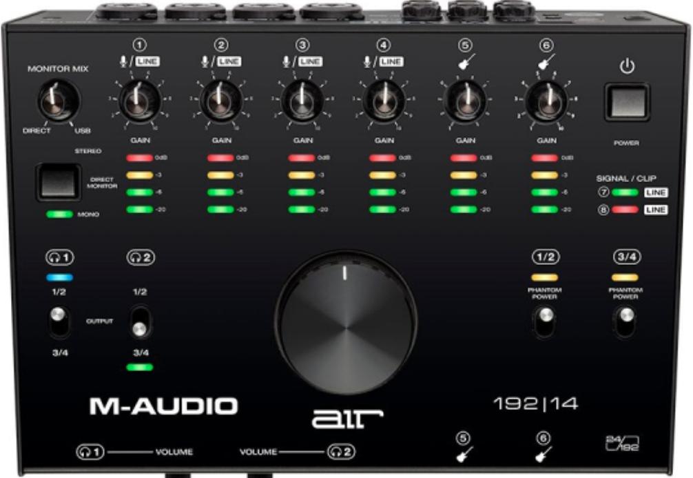Аудиоинтерфейс M-Audio Air 192/14