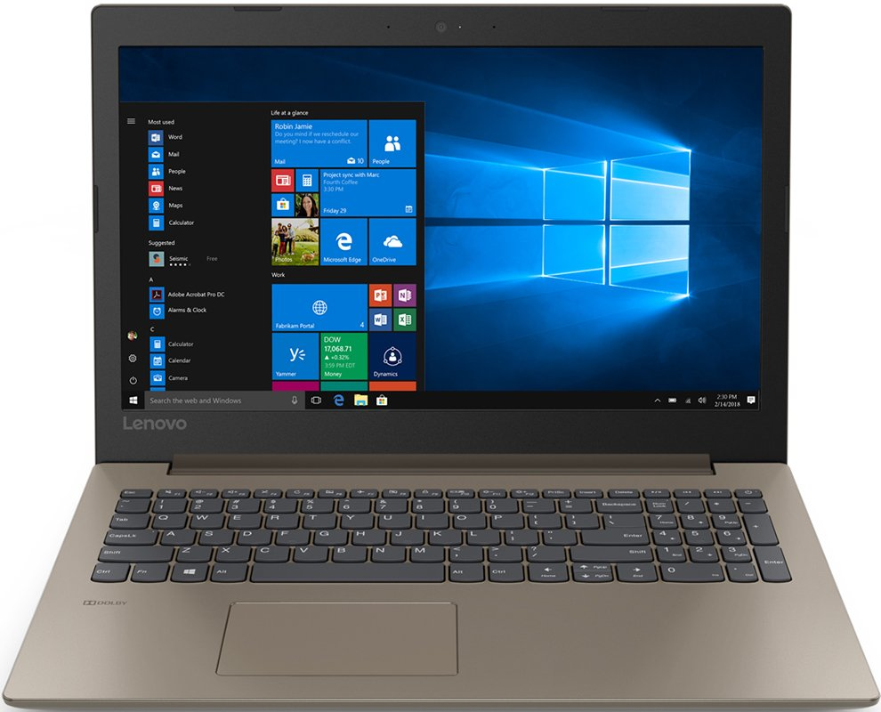 "Ноутбук Lenovo IdeaPad 330-15ARR 15,6""/2GHz/8Gb/1Tb/128GbSSD/Radeon 540/W10 Brown"