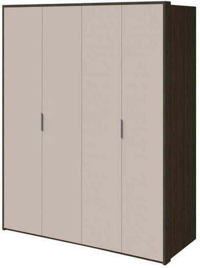 Шкаф Интердизайн Тоскано ясень темный/капучино 2209x1868x599 см