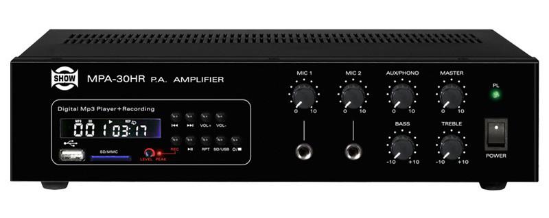 Трансляционный усилитель Show MPA30HR