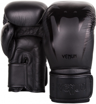 Перчатки Venum Giant 3.0 Black/Black Nappa Leather