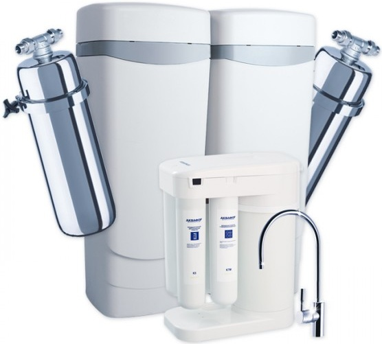 Комплект водоочистки Аквафор WaterMax MXQ + Викинг + Морион + соль