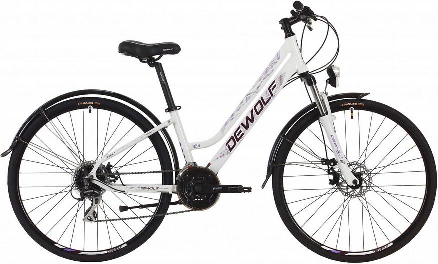 """Велосипед Dewolf Asphalt FS (2019) белый 28"""""""