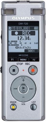 Диктофон Olympus DM-720 4Gb Silver