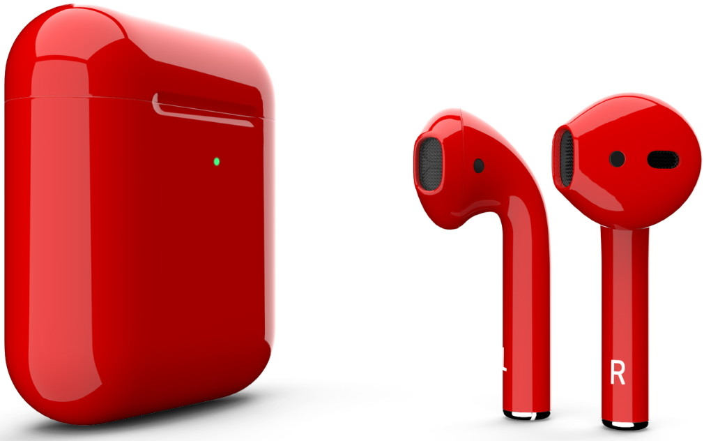 Наушники Apple AirPods 2 2019 Gloss Red…