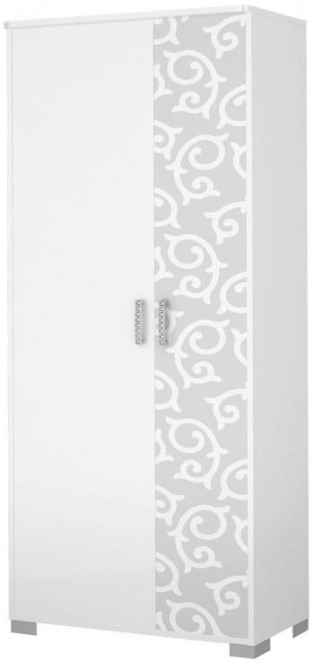 Шкаф Интердизайн Белла белый/белый 2040x900x451 см