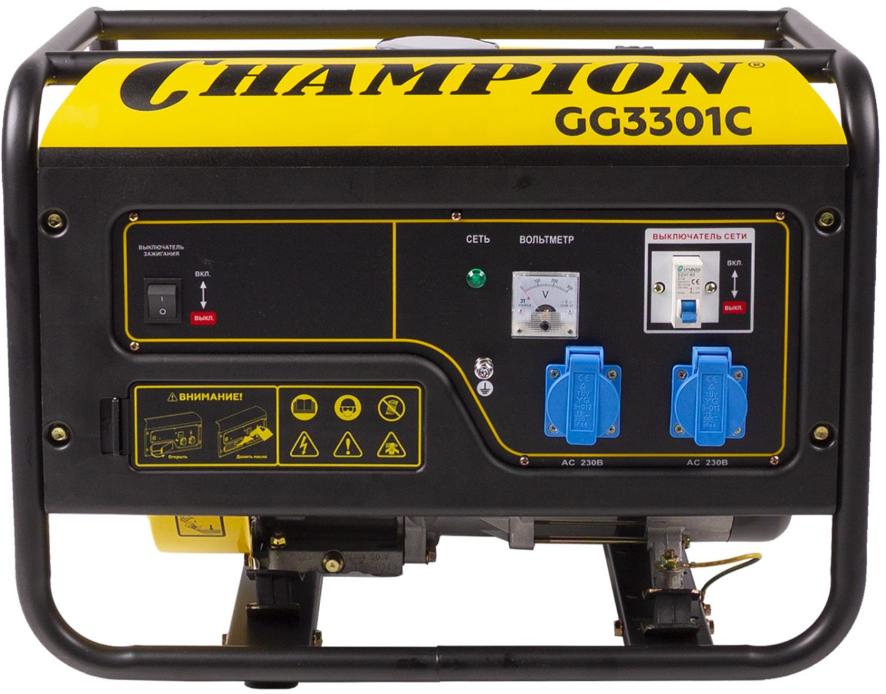 Электрогенератор Champion GG3301C