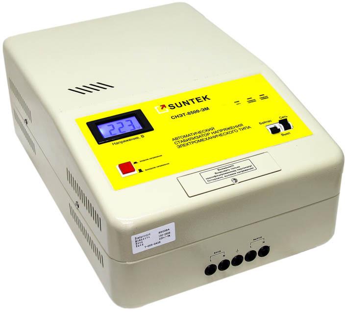 Стабилизатор напряжения Suntek 8500 ВА ЭМ